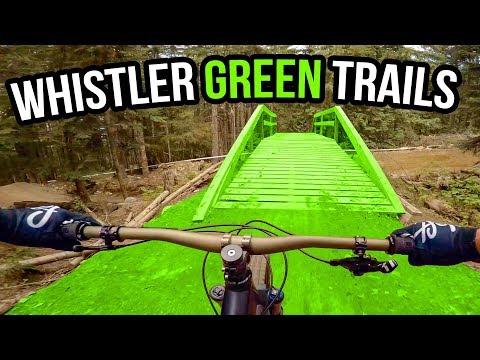 Whistler Bike Park Green Trails 2018 - Complete Beginner's Guide