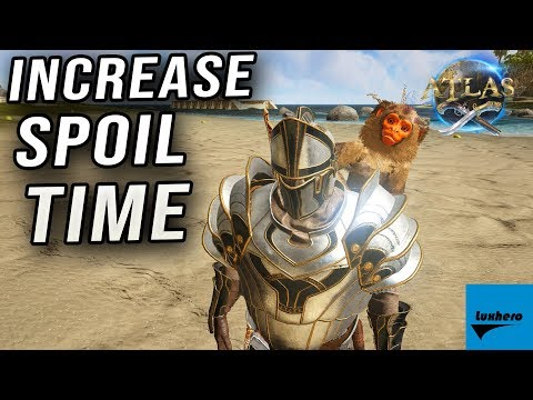Atlas - How to Increase Spoil Time for Food
