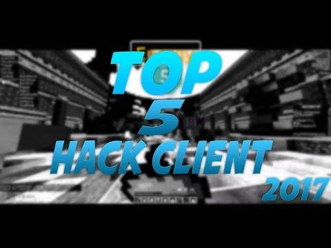 TOP 5 MEJORES HACK CLIENT PVP MINECRAFT 2017