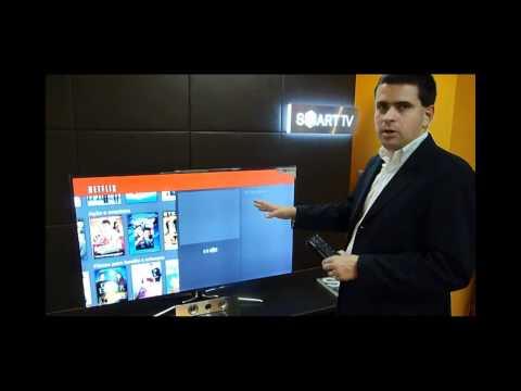 Netflix: veja o app funcionando numa Smart TV