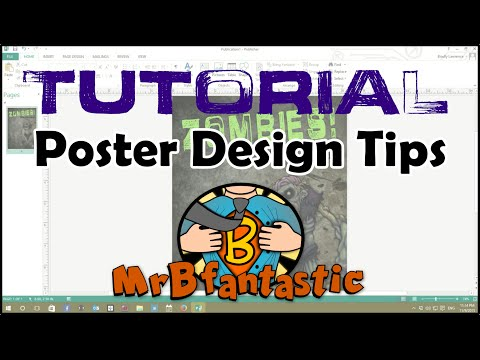 School Project Poster Tips - Tutorial