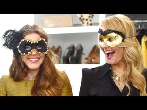 DIY Fashion | Masquerade Ball Halloween Mask