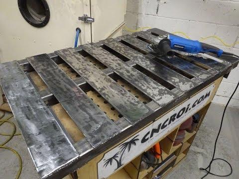 Custom Welding Table: Laser Cut Downdraft Table Evolutionary Leap!