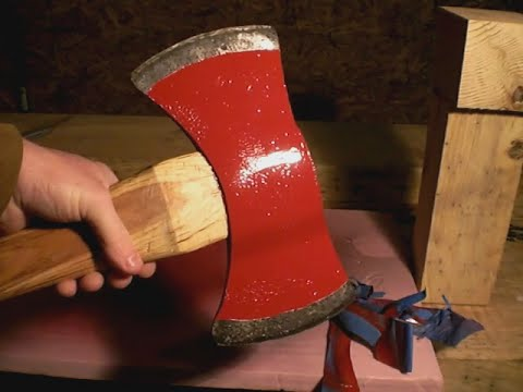 Making a Leather Axe Sheath.  It didn't turn out as planned.