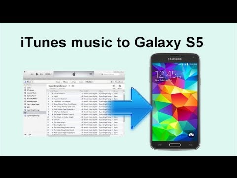 iTunes to Galaxy S6/S5 Transfer -- transfer iTunes music/playlist to Samsung Galaxy S6, S6 edge, S5