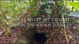 Deep in the Mayan jungle you will never guess what we found!