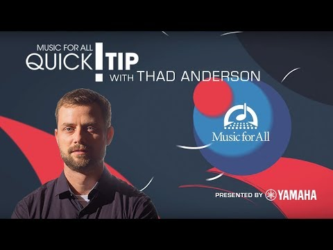 Quick Tip with Thad Anderson