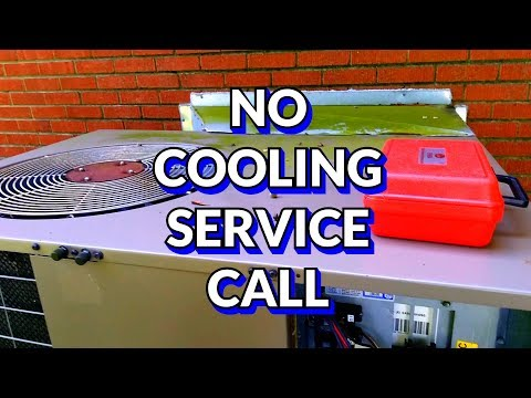 HVAC Service   No Cooling   Thermostat Failure