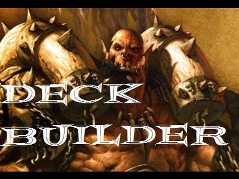 Hearthstone Arena: Deck Builder - Warrior