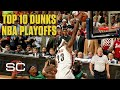 NBA's Top 10 Playoff Dunks Ever feat. LeBron, Kobe and Jordan | SportsCenter