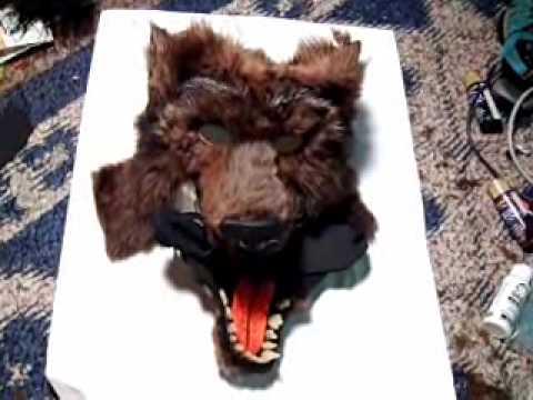 Make an Articulated Werewolf Mask