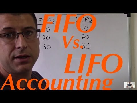 Accounting For Beginners #11 / Fifo and Lifo Inventory / Basics