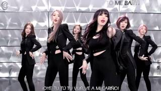 Dal Shabet-B.B.B MV [Sub Español+Hangul+Romanización+KARAOKE]