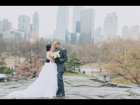 Central Park Wedding Elopement - Y & G