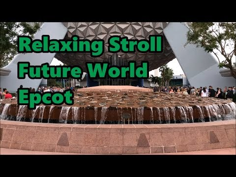 Relaxing Stroll Around Future World at Epcot | Walt Disney World