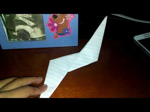 How to make paper ninja star part1