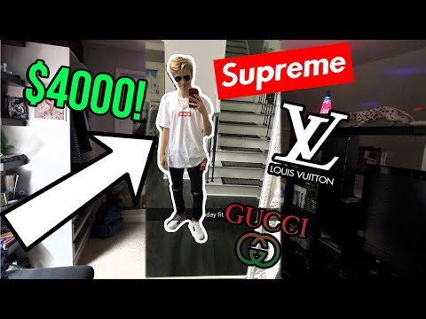WEARING A 4000 HYPEBEAST OUTFIT ON MY BIRTHDAY