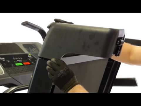 How to change the rear roller on a Climb treadmill ?