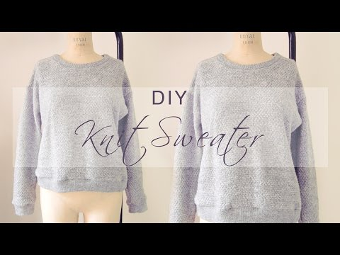 DIY Quick Knit Sweater ❄️