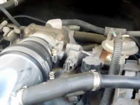 1997 Ford Expedition 5.4L V8 Triton Throttle Position Sensor TPS Location
