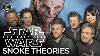 Star Wars: The Last Jedi Cast Share Their Favorite Snoke Theories