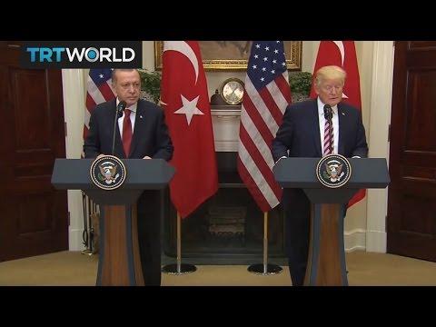 Trump - Erdogan joint presser at the White House