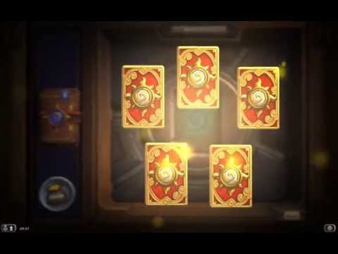 ϧ Hearthstone - Opening 40 Packs - GOLDEN TIMES - Season 2 (May 2014)