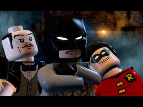 LEGO Batman 3: Beyond Gotham (Vita / 3DS) - 100% Guide Chapter 2 - Batcave Battle