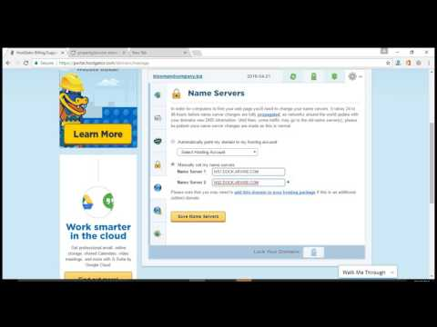How to change DNS on Hostgator hosting