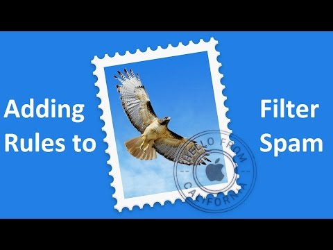 How to Add Rules to MacMail to Filter Spam Emails