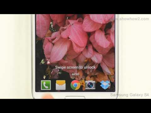 Samsung Galaxy S4: How To Change Lock Screen Applications (HD Video) - Preview