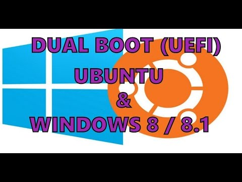 Dual Boot - Windows 8 & Ubuntu en Lenovo G50-30 con UEFI bios