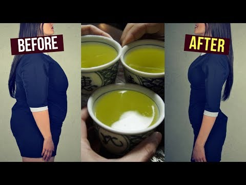 Bedtime Drink How to Lose Weight Overnight / Fat Burning Drink / Lose Stomach Fat