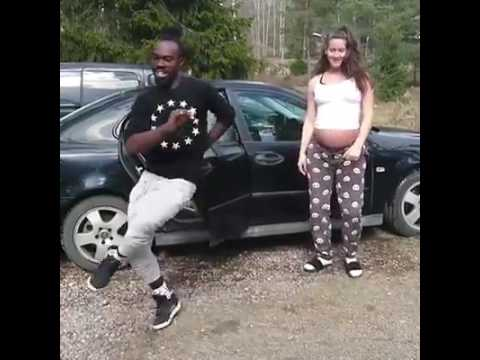 Heavily Pregnant Lady In Labour Shows Off Her Dance Moves One Last Time On He