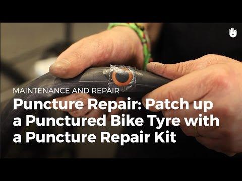 Tire Repair: Use a Puncture Repair Kit | Bike Repair