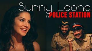 Sunny Leone in Police Station | Latest Bollywood Controversy | Mirchi Custody | Filmy Mirchi