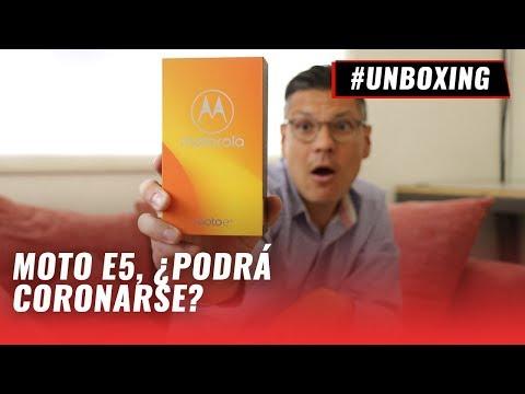 Moto E5 - #Unboxing y primeras impresiones en español