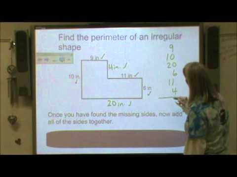 Area & Perimeter of Irregular Shapes