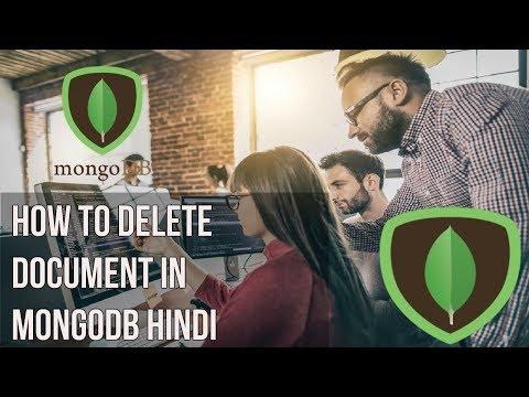 Learn mongodb in Hindi | How to delete Document in mongodb Hindi