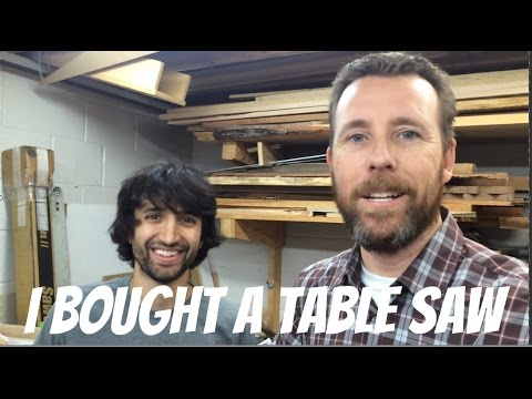 I Bought a Table Saw from Matt Cremona