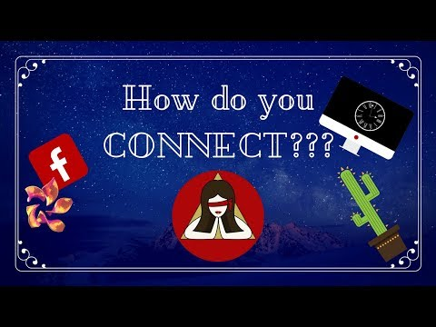 How do you CONNECT????