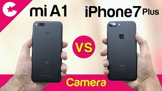 Xiaomi Mi A1 vs iPhone 7 Plus (Camera Comparison) Is It GOOD ENOUGH??