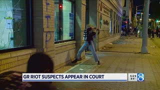 GR riot suspects appear in court