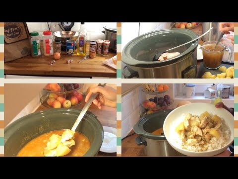 Slowcooker Chicken Curry