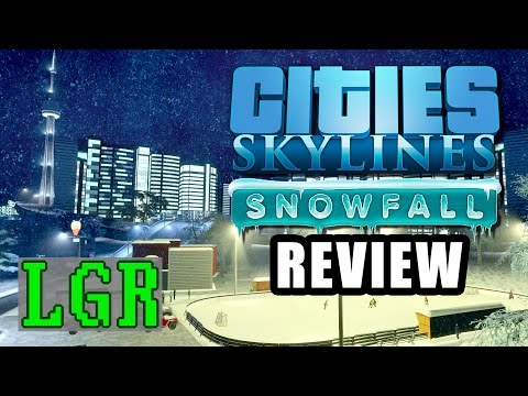 LGR - Cities: Skylines Snowfall Review