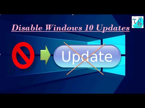 Disable / Stop permanently Windows 10 Automatic Updates | Working 100 %