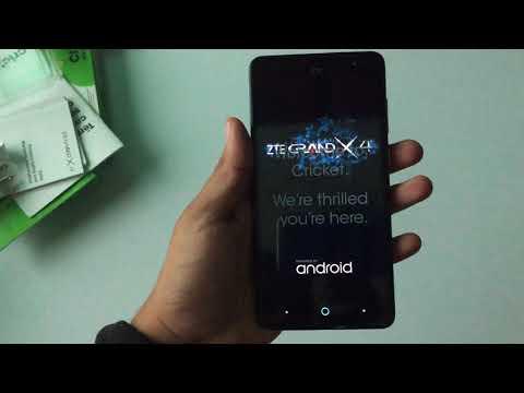 Zte Grand X4 Cricket Unboxing y Mini Review en Español