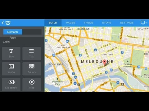 Weebly Tutorial: How to use Weebly editor to upload a Google Map