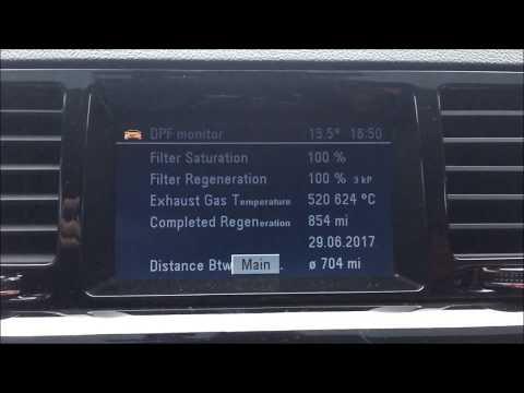 Vauxhall Vectra C Comfort Unit DPF Regen