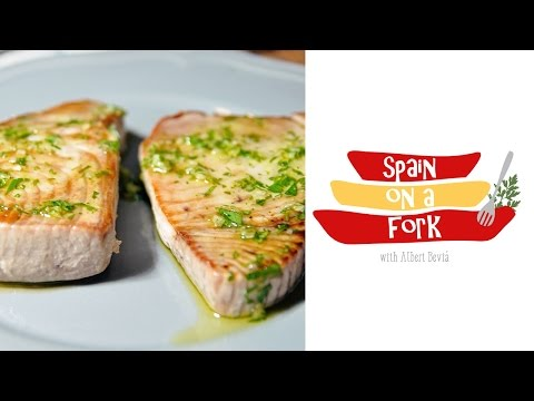 Easy & Quick Recipe for Pan Grilled Tuna